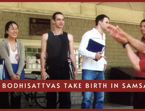 How Bodhisattvas Take Birth in Samsara